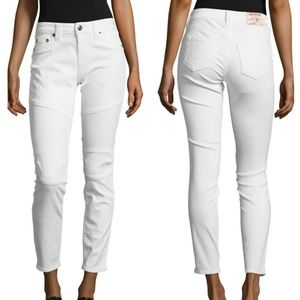 True Religion Jeans - NWT True Religion white cropped cuff jeans